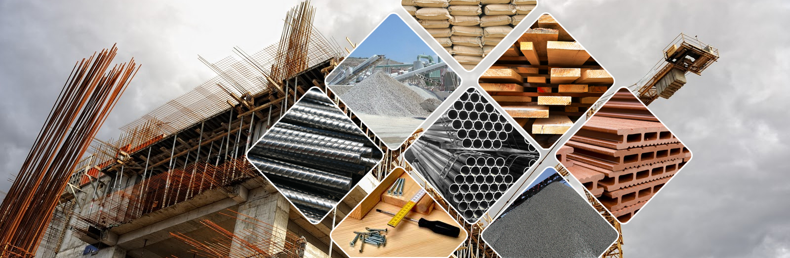 Building materials korbin dallas associates co for Materials needed to build a house